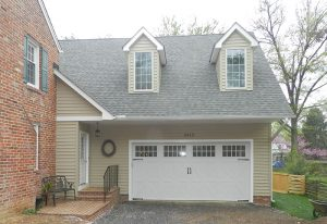 2-car Garage Addition with Large Master Bedroom and Bath on 2nd Floor, Potomac, MD