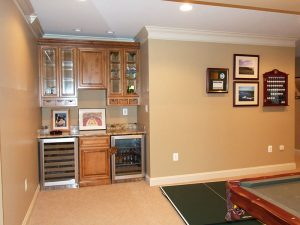 Basement/Recreation Design/Remodel with Bar Area, Annapolis, MD