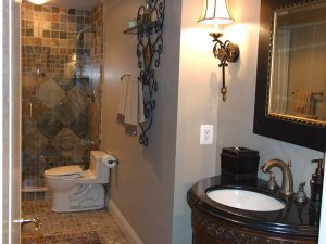 Basement Traditional Bathroom Design/Remodel, Annapolis, MD