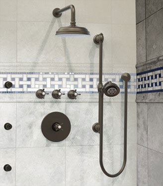 Buckingham Shower Bath Design
