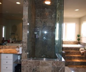 Complete Bathroom Design with Steam Shower for Spa Feeling, Annapolis, MD