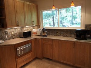 Complete Kitchen Design and Remodel, Removing Sliding Doors to Expand Kitchen, Bethesda, MD