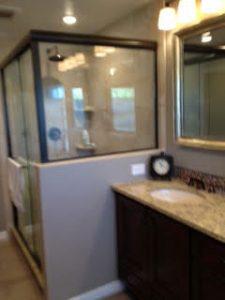 Enlarging Shower Area in Master Bath, Columbia, MD