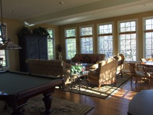 Large Family Room Addition, Lutherville, MD