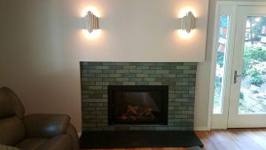 Living Room Addition with New Fireplace, Bethesda, MD