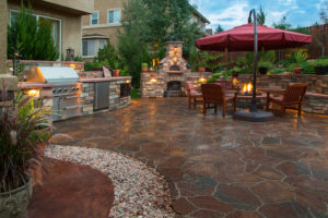 Material Options for Outdoor Kitchens